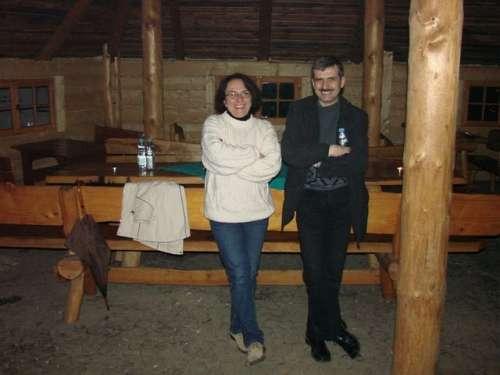 Irek z Bolesławca i Grażyna Makowska, organizator KASY, wieloletni prezes SARP Jelenia Góra